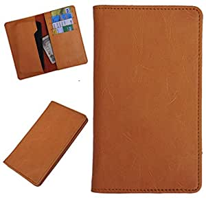 DCR Pu Leather case cover for LG Nitro HD (orange)