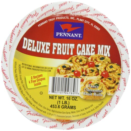 Pennant Deluxe Fruit Cake Mix, 16 Ounce (Pennant Candied Fruit compare prices)