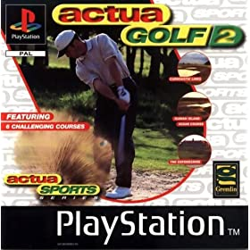 Torrent Super Compactado Actua Golf 2 PS1