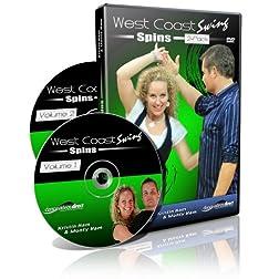 West Coast Swing Spins 2 DVD Set (Kristin Ham)