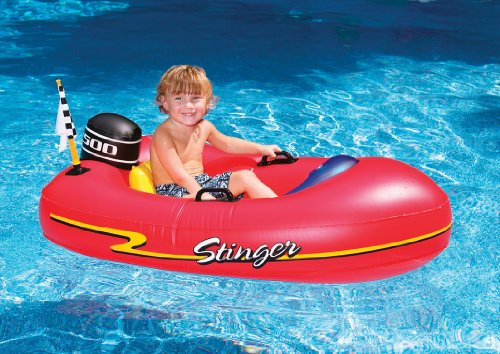 Speed Boat Inflatable Pool Toy Float