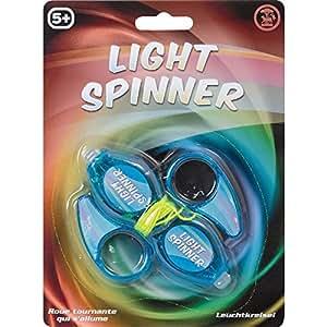 Wind up light up spinner kids children 39 s for Light up fishing spinners