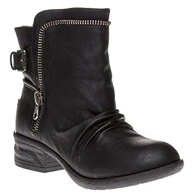 Rocket Dog Deck Boots Black 8 UK