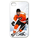 Claude Giroux Philadelphia Flyers #28 iPhone 4 4S Durable and lightweight Cover Case at Amazon.com