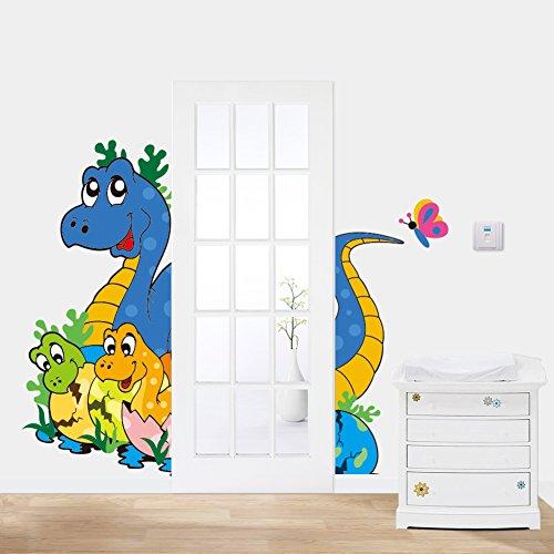 Vinilos de dinosaurios para decorar for Pegatinas de pared infantiles