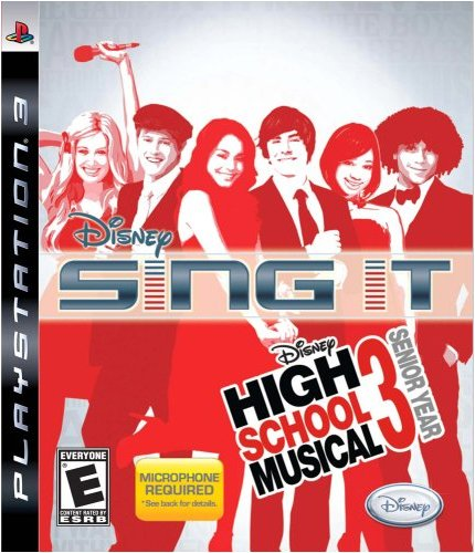Sing It! High School Musical 3: Senior Year - Playstation 3 (Game Only) - 1