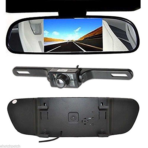 "Eteyo 4.3"" Tft Lcd Monitor Car Rear View System Backup Reverse Camera Kit Night Vision"