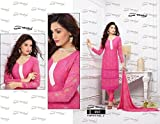 Dhruta Creation Embroider Georgette Partywear Designer Dress Material