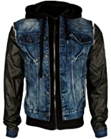 CIPO & BAXX Jeans-Jacke 2in1 Jacket Herren C-1290