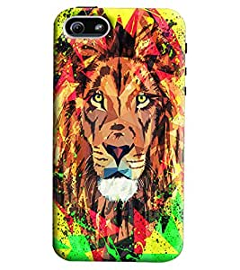 Blue Throat Lion Printed Designer Back Cover/Case For Apple iPhone 5s