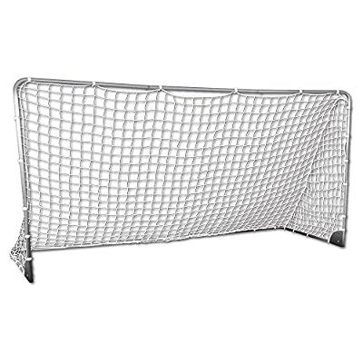 Franklin Sports Premier Silver Folding Soccer Goal