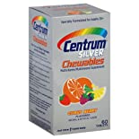 Centrum Silver Multivitamin/Multimineral, Chewables, Citrus Berry, Tablets, 60 ct.