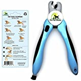 Pro Pet Works Cat and Dog Nail Clippers Trimmers For Pet Grooming with Quick Guard Sensor and Stainless Steel Blades