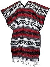 Del Mex Classic Mexican Blanket Poncho