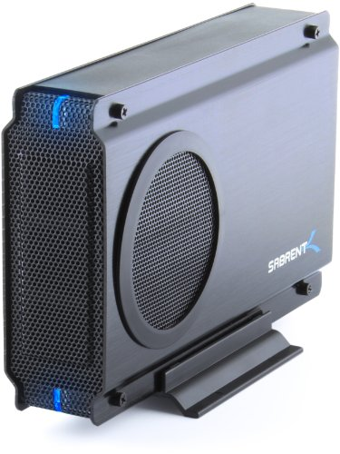 Sabrent USB 2.0/ESATA TO 3.5 Inch IDE or SATA/SATA II Aluminum Hard Drive Enclosure Case with Cooling Fan (EC-UEIS7) (Hard Drive Cooling compare prices)