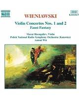 Wieniawski: Violin Concertos Nos. 1 And 2 / Faust Fantasy