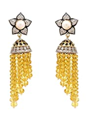 Akshim Multicolour Alloy Earrings For Women - B00NPYA0C6