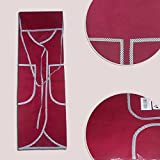 Best Kitchen Aprons for Women - Designer Cooking Apron for Women/Made of Pure 100% Unbleached Cotton - Stylish Red Color Kitchen Apron with 2 Big Pockets/Machine Washable No Shrink Rip Proof and Wrinkle Guard Features - Perfect Kitchen Apron for All Types of Cooking Including Grill and Barbeque - Premium Quality Cooking Apron With Best Lifetime Guarantee