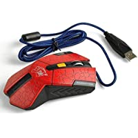 ElementDigital TM Lovely Wire Game Mouse Mice For Personal Computer Notebook Ect Red
