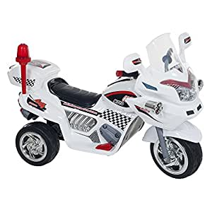 Lil' Rider Police Connection Bike Trike Ride-On, Supersize, White