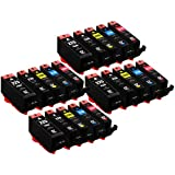 E-Z Ink (TM) Compatible Ink Cartridge Replacement for Canon PGI-225 CLI-226 (4 Large Black, 4 Cyan, 4 , Magenta4 Yellow, 4 Small Black) 20 Pack