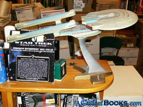 Star Trek Generations Starship Enterprise NCC-1701-B Electronic Light and Sound Ship (1994)