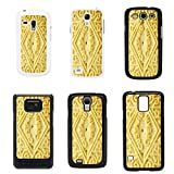 Sweets Biscuits cover case for Samsung Galaxy S4 i9500 - Black - T1070 - Custard Cream