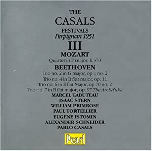 The Casals Festivals Series Vol. 3 - Perpignan 1951