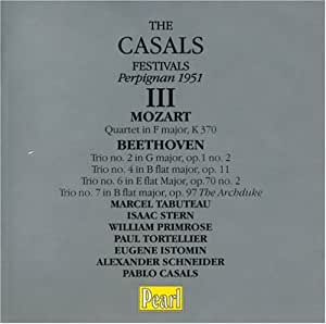 The casals festivals - perpignan, 1951- volume 3