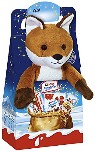 kinder-christmas-mix-fluffy-toy-fred-fox-133g
