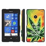 Mobiflare Nokia [Lumia 521] Windows Phone Keep Calm Hit the Bong Slim Guard Protect Artistry Design Case
