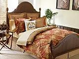 Tommy Bahama Orange Cay 4-Piece Comforter Set, King