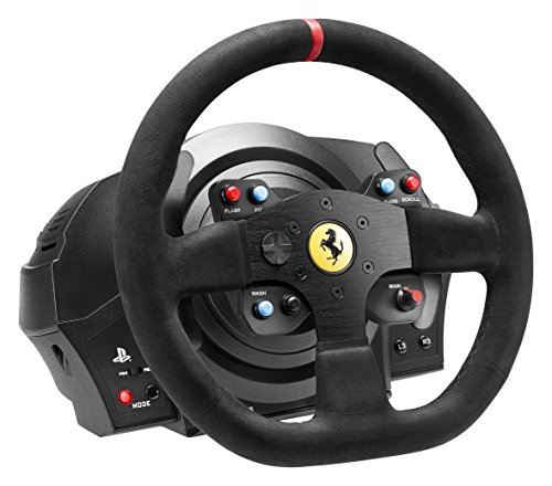 thrustmaster vg t300 ferrari alcantara edition racing wheel for ps4 ps3 and pc vehicles parts. Black Bedroom Furniture Sets. Home Design Ideas