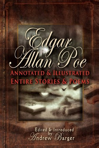 Edgar Allan Poe Annotated and Illustrated Entire Stories...