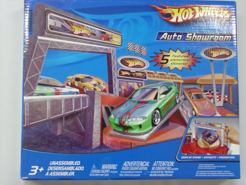 Hot Wheels Auto Showroom - Buy Hot Wheels Auto Showroom - Purchase Hot Wheels Auto Showroom (Hot Wheels, Toys & Games,Categories,Play Vehicles,Vehicle Playsets)