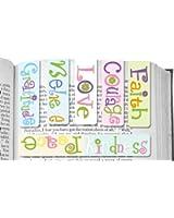 Set de Marque-Pages Magnétiques Repliés avec Message de Motivation