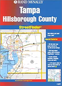 Hillsborough County (Florida) (Streetfinder) by Rand McNally & Co ,U.S.