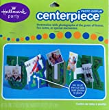 Camouflage You Rock Photo Display Centerpiece for Boy's Party