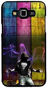 PrintVisa Music Dance Pattern Case Cover for Samsung Galaxy Grand Max (Multicolour)