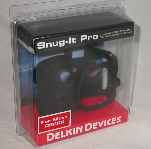 Delkin Snug It Pro Skin for the Nikon D5200 Digital SLR Camera at Amazon.com