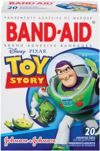 Band-Aid Brand Toy Story, 20-count Boxes (Pack of 6)
