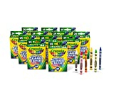 Crayola Washable Crayons 24 Ct Washable Ultraclean Crayons (Set of 12 Each)