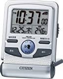CITIZEN (シチズン) 目覚し時計 パルデジットガイド 電波時計 トラベラー 音声ガイド 8RZ109-019