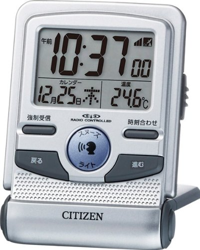 CITIZEN Alarm clock Pal digit Guide Radio-Controlled Wrist Watch 8RZ109-019