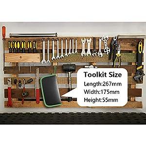 Soldering Iron - Soldering Kit, 19-in-1 60w Soldering Iron Kit Electronics Adjustable Temperature Welding Iron with ON/OFF Switch, Digital Multimeter, 5 Tips, Desoldering Pump, Screwdriver, Tweezers (Color: WI)