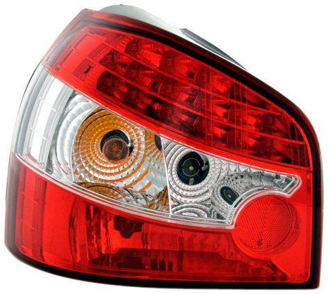 Led Taillights Audi A3 Typ 8L Yr. 96-02 Red