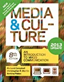 img - for Media and Culture with 2013 Update: An Introduction to Mass Communication book / textbook / text book