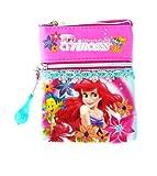 Disney Princess Little Mermaid life under the sea Shoulder Sling Bag Neck Bag Stash Pouch for children girls (PNC-9236)