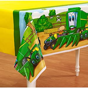John Deere Johnny Tractor Tablecover