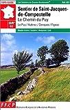 echange, troc Guide FFRP - Sentier de St-Jacques-de-Compostelle, GR 65 : Le Chemin du Puy - Figeac
